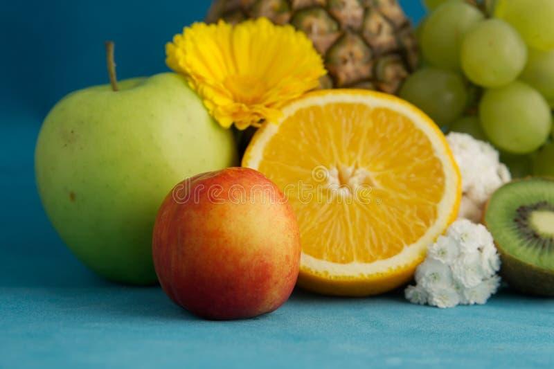 близкие плодоовощи вверх стоковое изображение