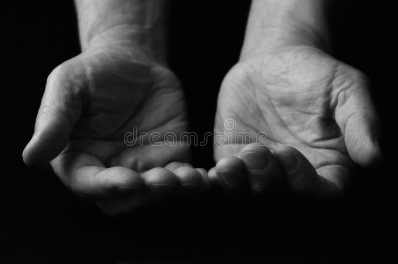 близкие руки вверх стоковое фото