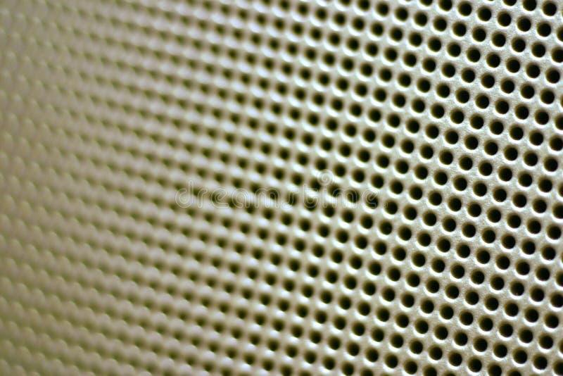 Download близкий диктор решетки вверх Стоковое Изображение - изображение насчитывающей пластмасса, технология: 81231