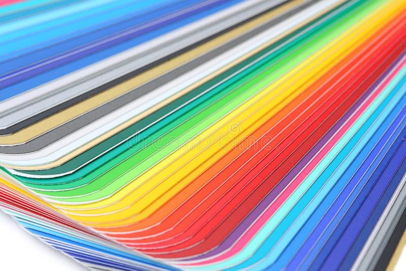 близкий направляющий выступ цвета вверх стоковые изображения rf