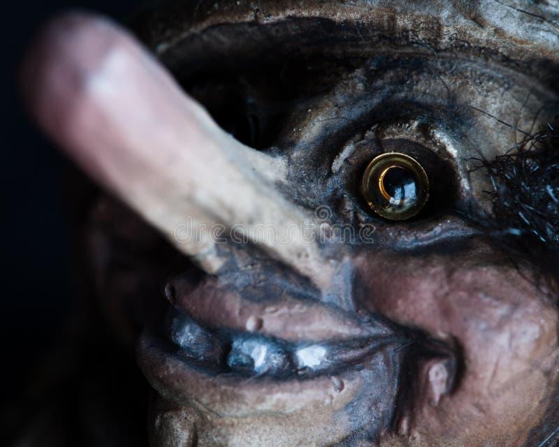 близкий норвежский troll вверх стоковые фото