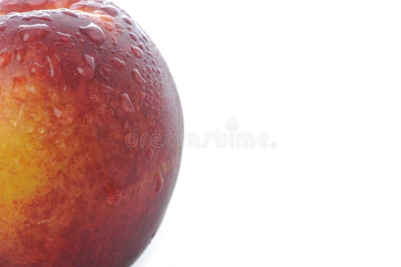 близкий персик вверх стоковое изображение
