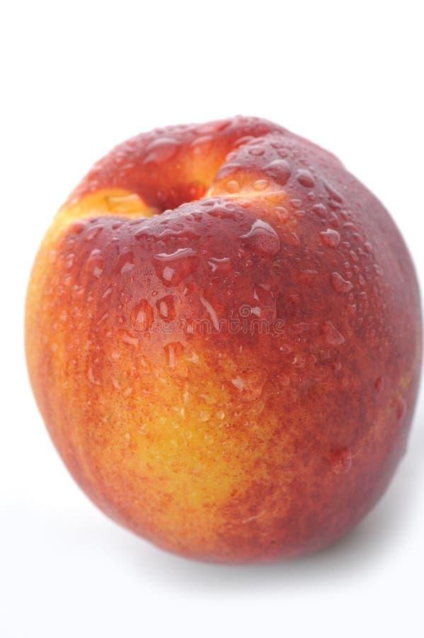 близкий персик вверх стоковая фотография rf
