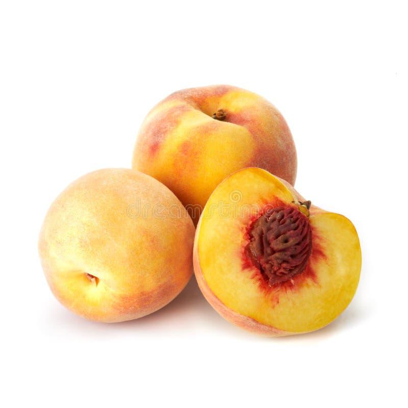 близкий персик вверх стоковое фото