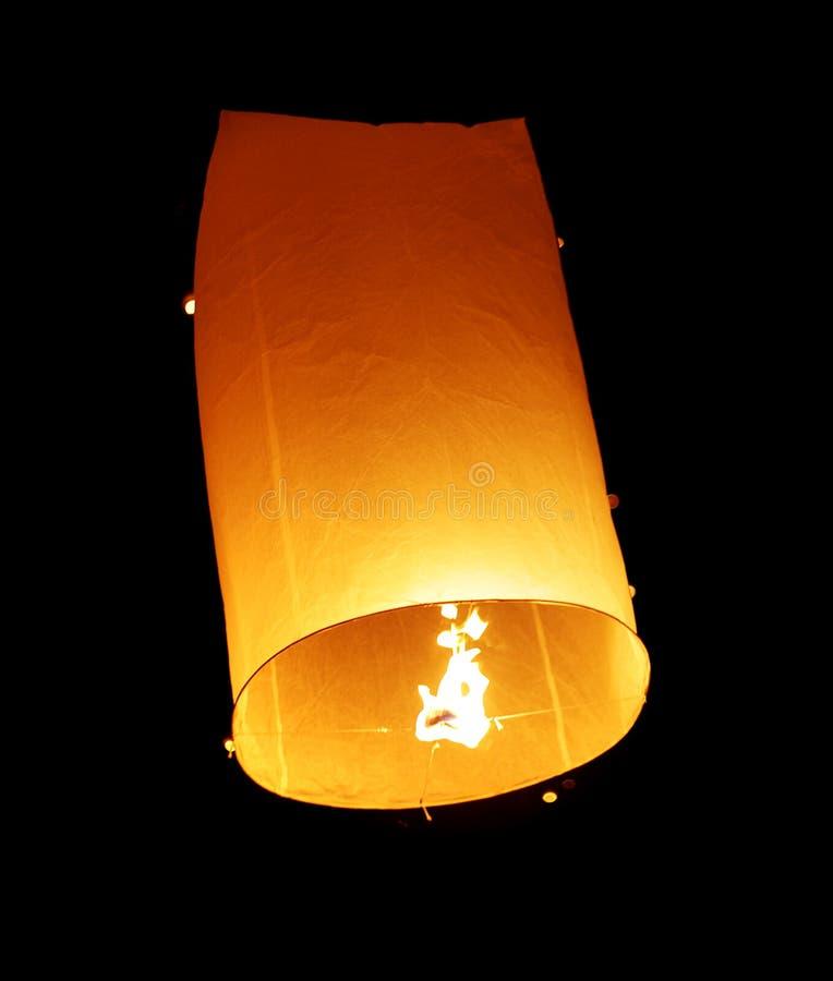 близкий плавая фонарик вверх по взгляду стоковое фото rf