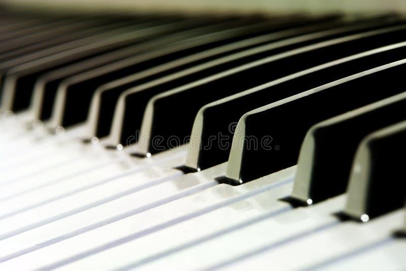 близкий синтезатор вверх стоковое изображение