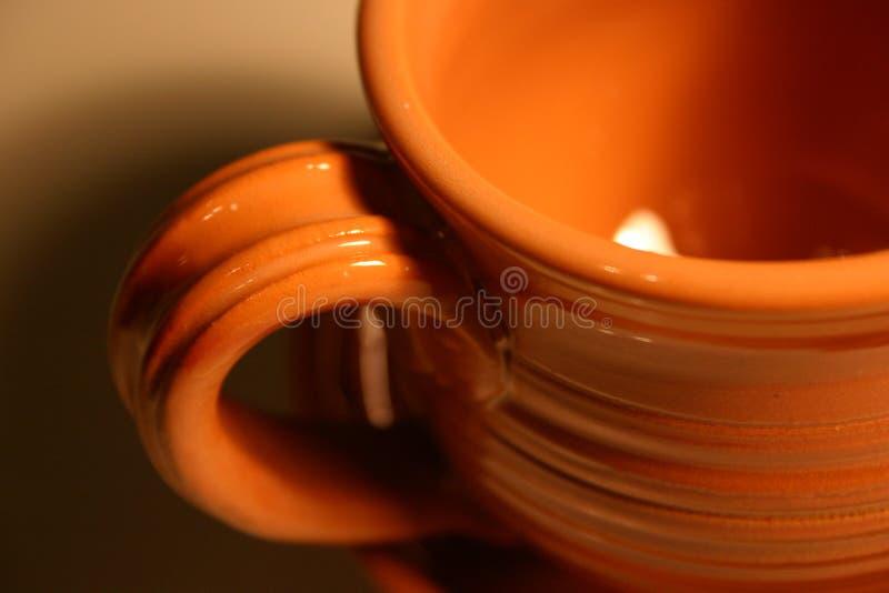 близкий Iv чашки вверх Стоковые Фотографии RF
