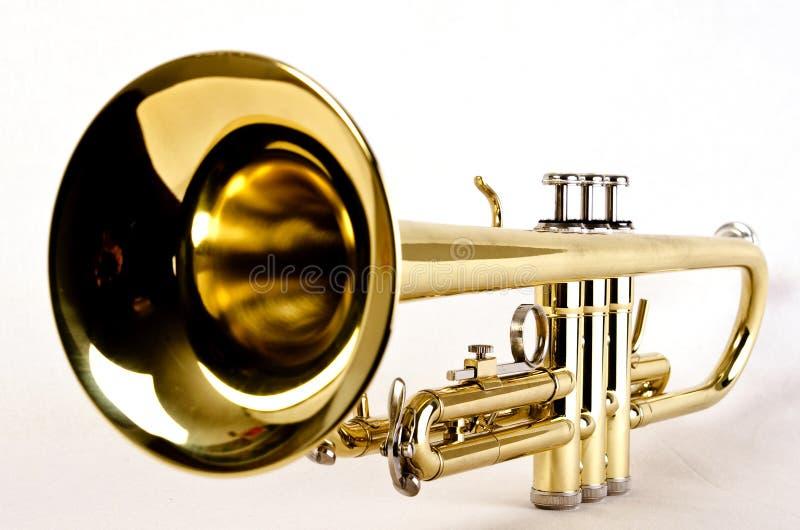 близкий trumpet стоковое изображение