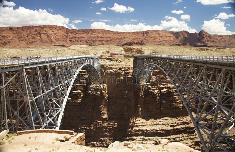 близнец мостов стоковая фотография