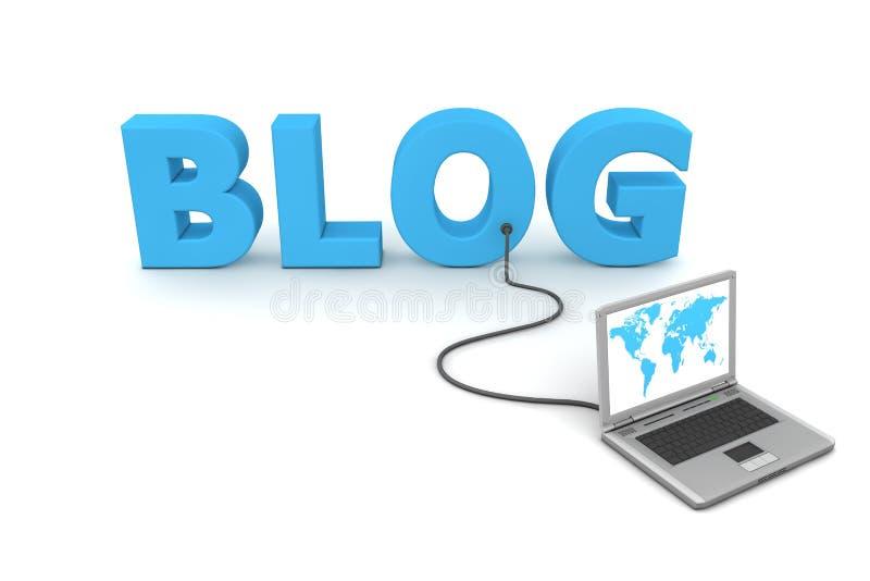 блог к связано проволокой иллюстрация штока