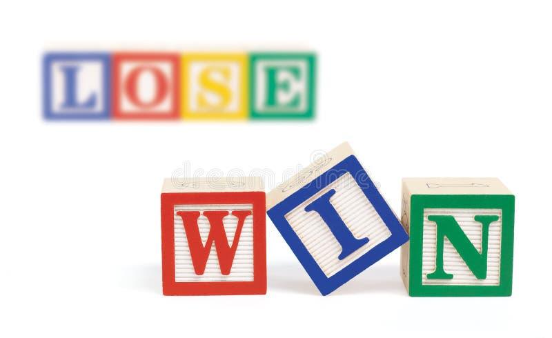 блоки алфавита теряют выигрыш стоковые изображения
