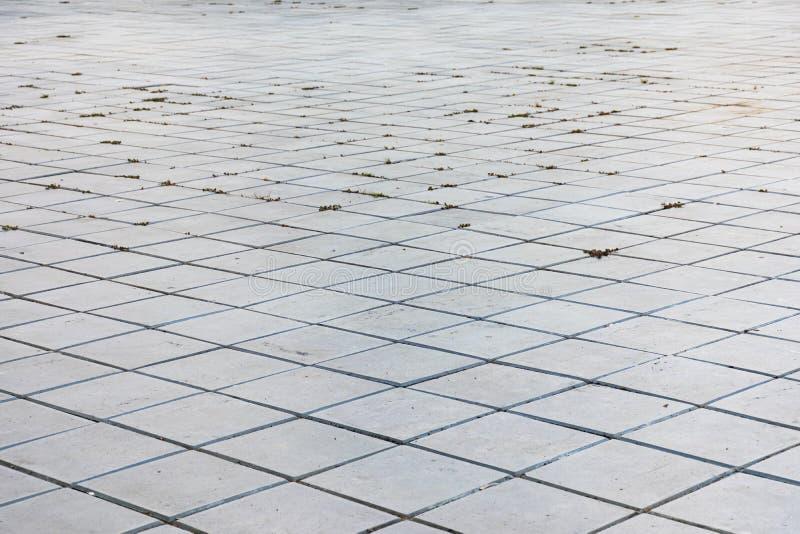 Блоки цемента вымощены на том основании стоковое изображение rf