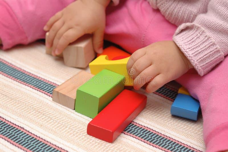 блоки toy деревянное стоковое фото rf