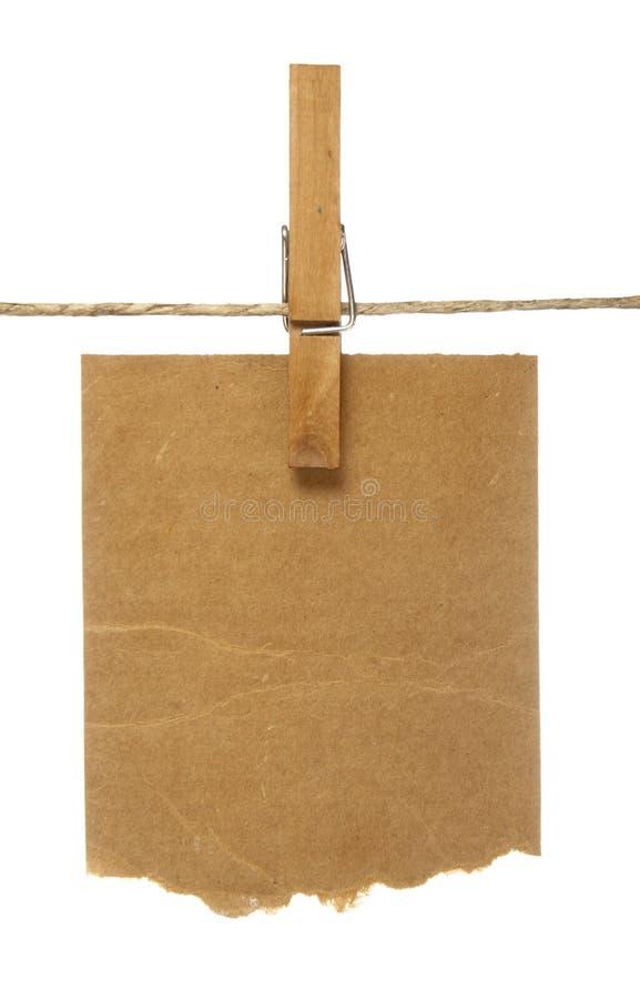 блокноты clothespins стоковые изображения