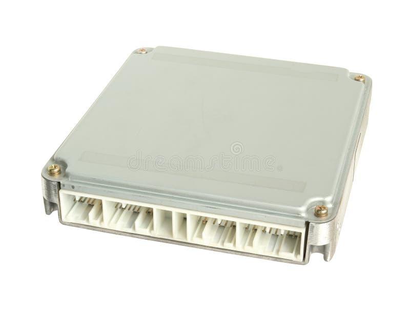 Блок контроля двигателя (ECU) стоковое фото