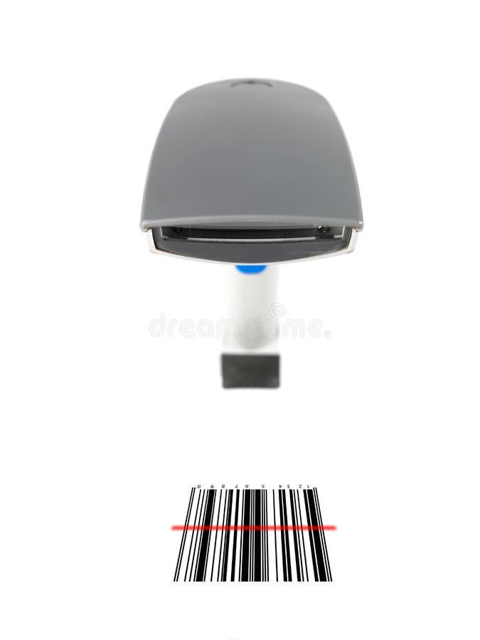 блок развертки barcode стоковое фото