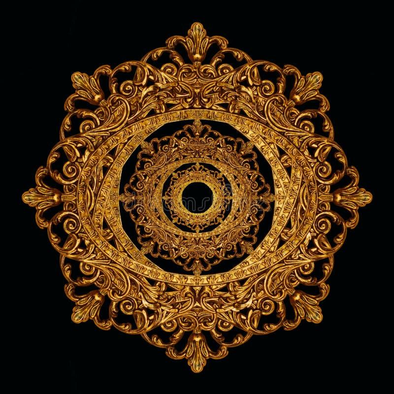 богато украшенный звезда снежинки стоковые изображения rf