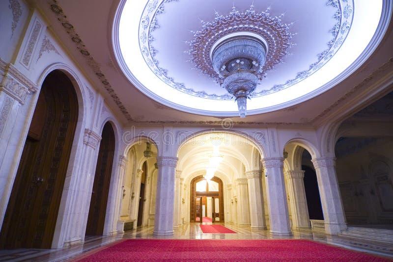 богато украшенный комната дворца стоковые фотографии rf