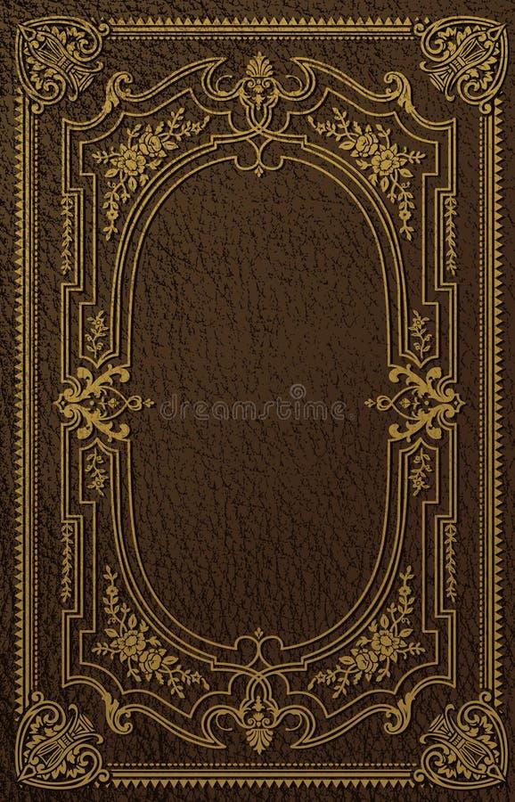 Классическая крышка книги иллюстрация штока