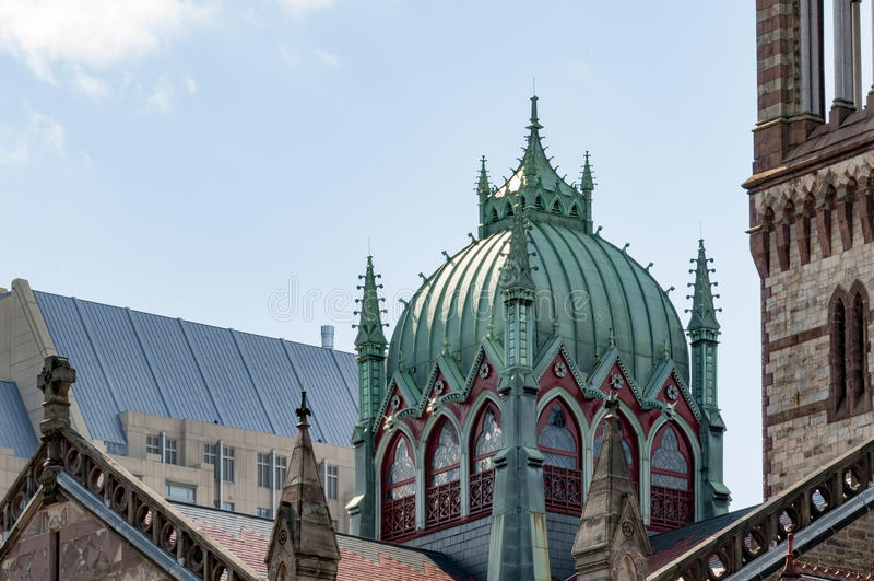 Богато украшенный купол стоковое фото