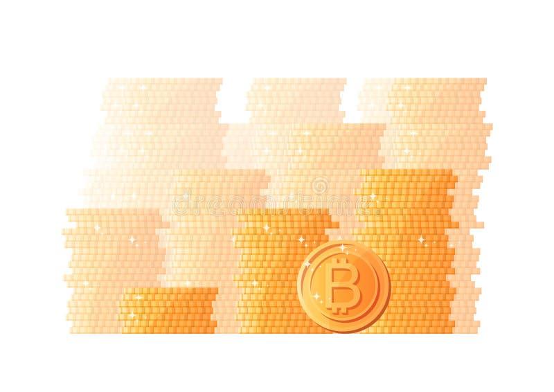 Богатство E Финансовая независимость Эффективное управление r r иллюстрация вектора