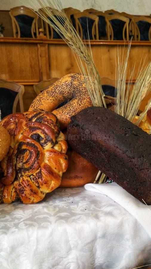 богатый сбор - румяный хлеб стоковые изображения rf