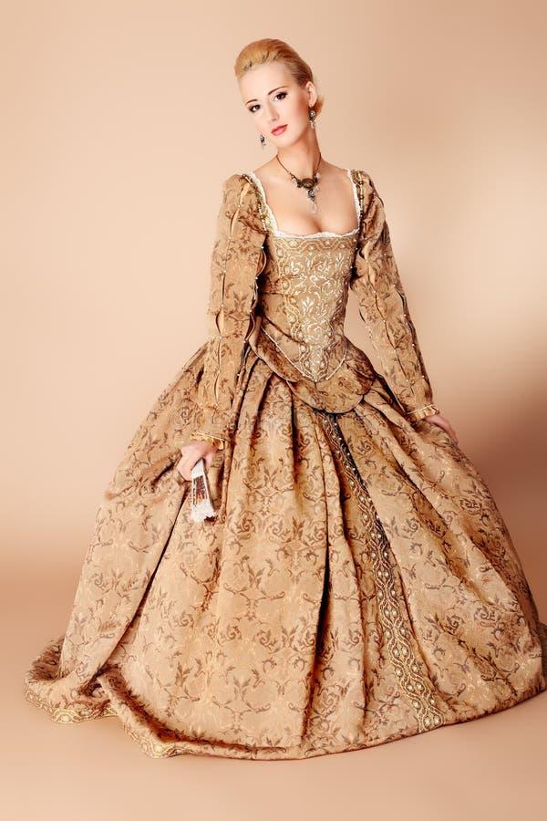 богачи платья стоковое изображение
