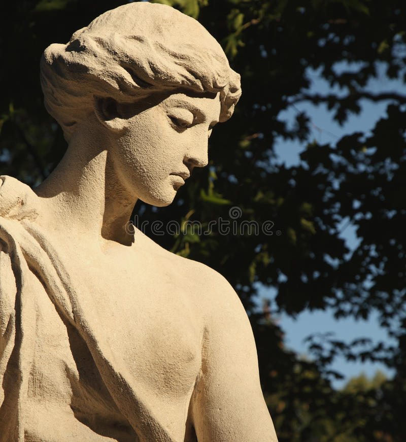Богина Афродиты влюбленности (Венера) стоковые фото