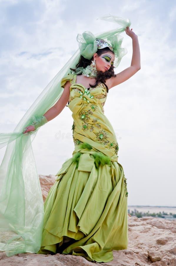 богина фантазии стоковое изображение rf