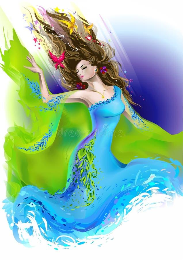 богина бесплатная иллюстрация