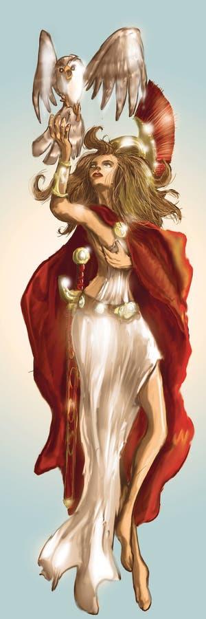 богина стоковое изображение