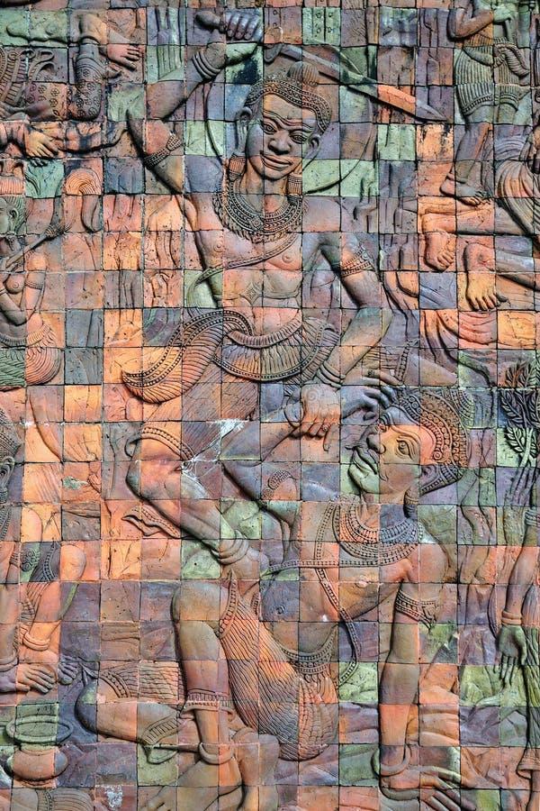 Богиня гравирует плитку стоковая фотография rf