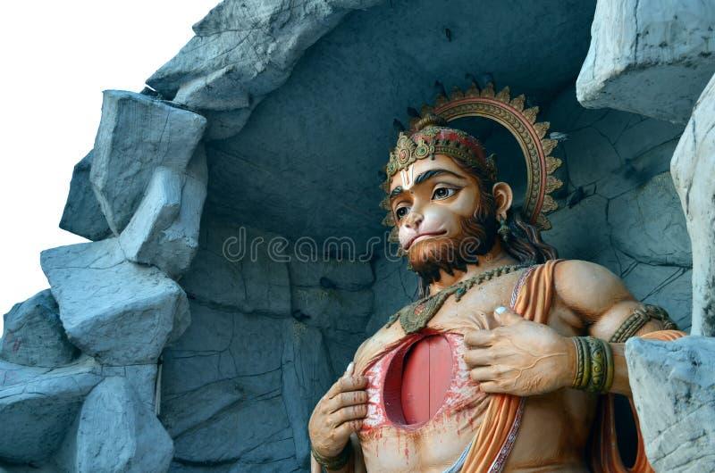 Богиня Hanuman стоковые фотографии rf