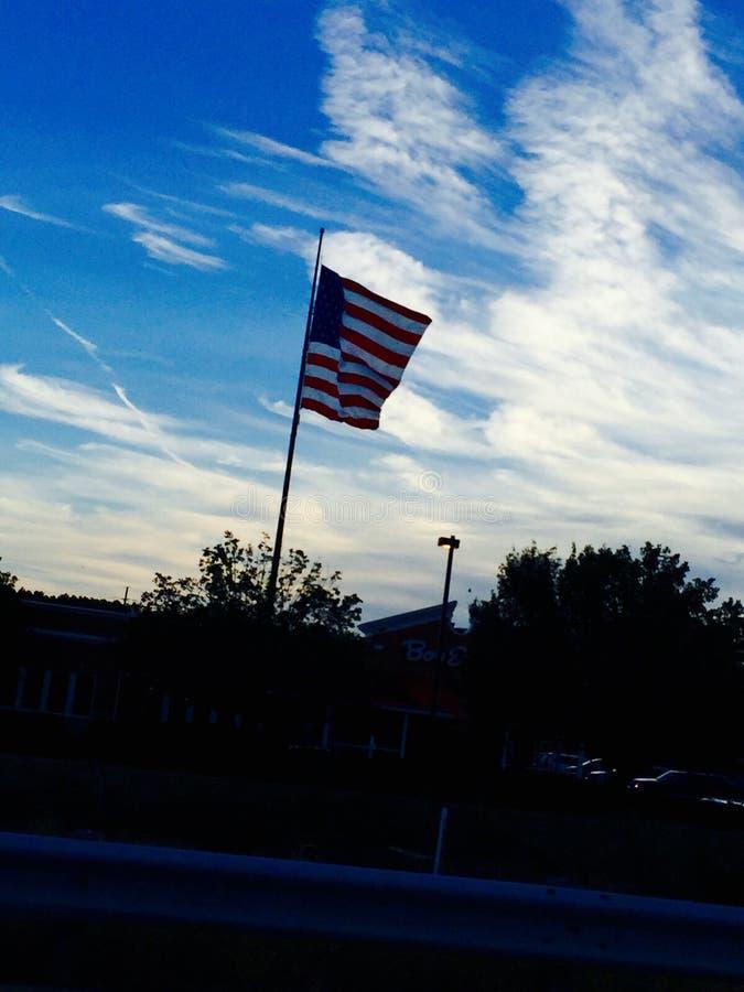 Бог благословляет Америку стоковые фотографии rf