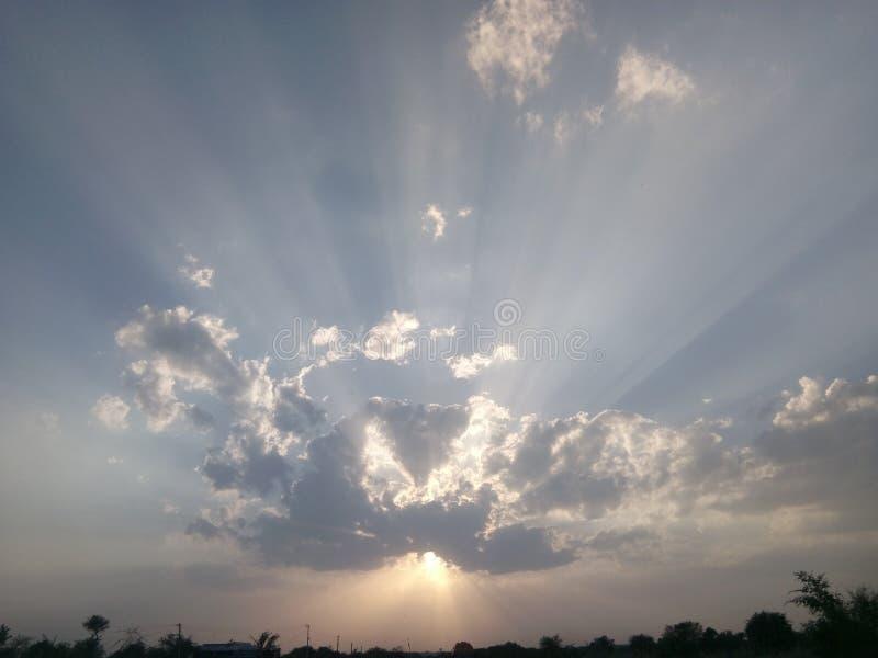 Бог обоев неба стоковая фотография rf