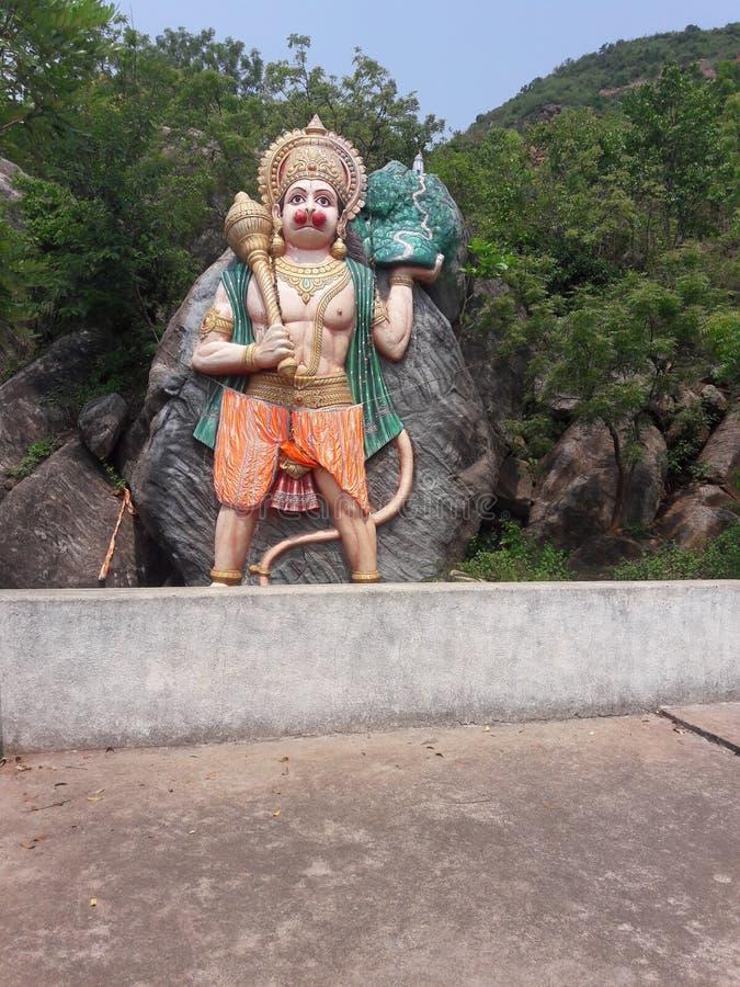 бог hanuman стоковая фотография