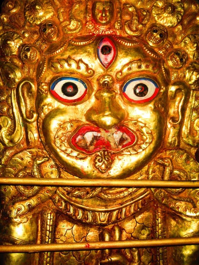 Бог Newari стоковые изображения