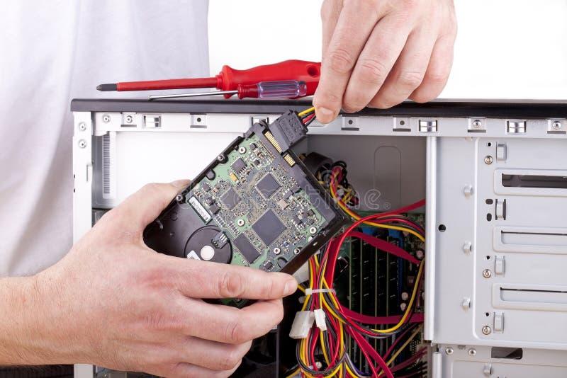 боевое обеспечение компьютера стоковые фотографии rf