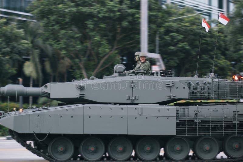 Боевой танк леопарда 2SG главный стоковое изображение rf