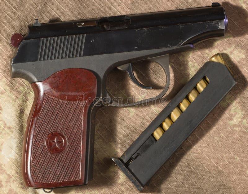 Download Боеприпасы пистолета Makarov Стоковое Изображение - изображение: 62765967