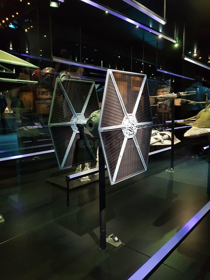 Боец связи Звездных войн стоковые фото