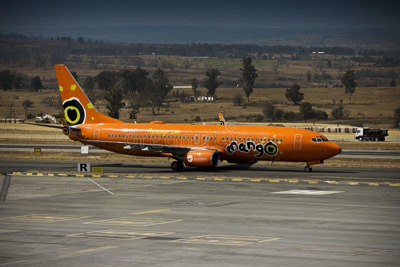 Боинг 737-8BG стоковое фото rf