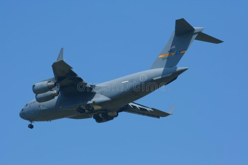 Боинг C-17A Globemaster III стоковое изображение rf