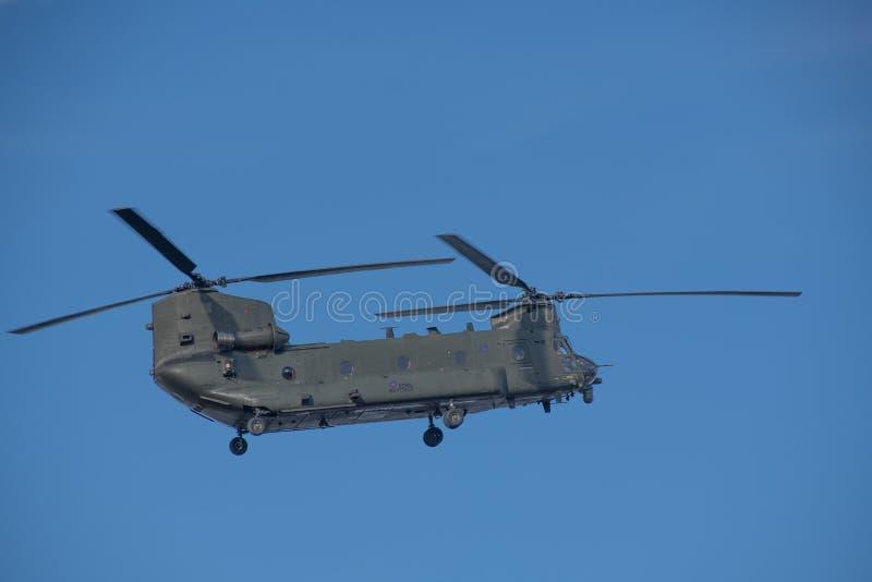 Боинг CH-47 Чинук стоковые изображения rf