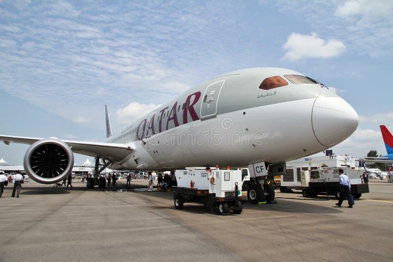 Боинг 787 Dreamliner стоковые изображения rf