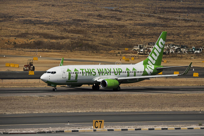 Боинг 737-8K2 - Kulula.com (Comair ограничивалось) стоковая фотография rf