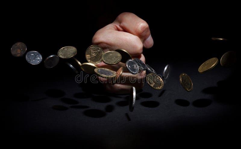 Бой против задолженности стоковое изображение
