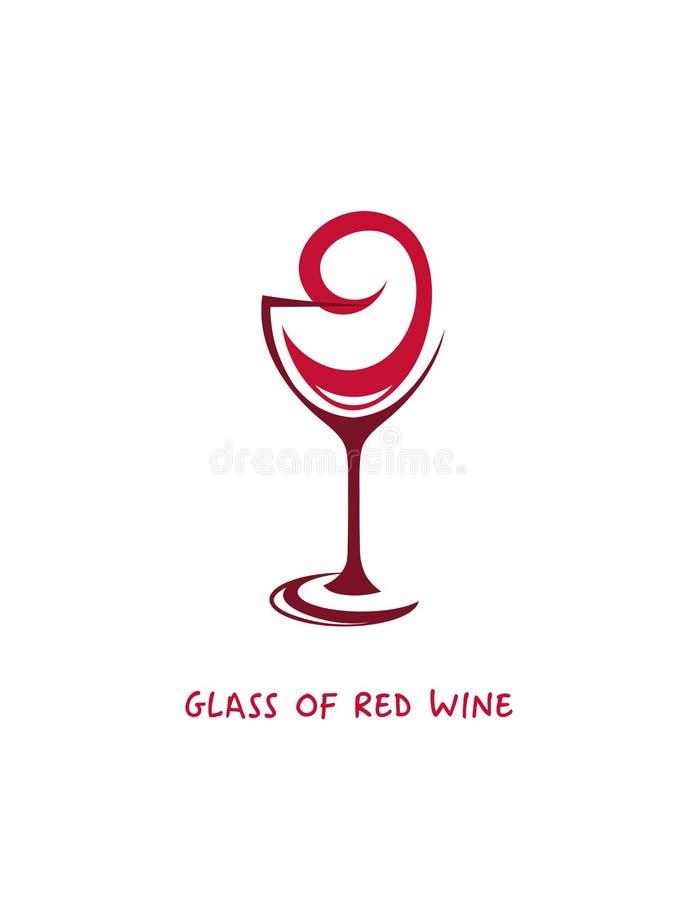 Бокал вина на белой предпосылке стоковая фотография rf