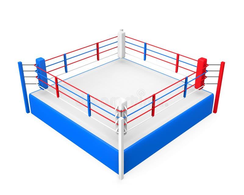Боксерский ринг иллюстрация штока