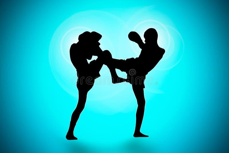 Тайский бокс стоковое фото rf